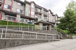 "Photo 1: 104 1215 PACIFIC Street in Coquitlam: North Coquitlam Condo for sale in ""PACIFIC PLACE"" : MLS®# R2470289"