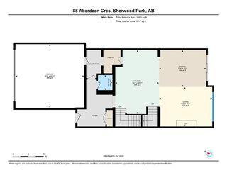 Photo 33: 88 Aberdeen Crescent: Sherwood Park House for sale : MLS®# E4221152