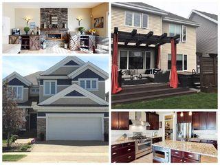 Photo 1: 4239 SAVARYN Drive in Edmonton: Zone 53 House for sale : MLS®# E4188558