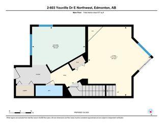Photo 32: 2 603 YOUVILLE Drive E in Edmonton: Zone 29 Townhouse for sale : MLS®# E4217412