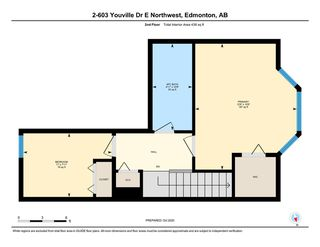 Photo 33: 2 603 YOUVILLE Drive E in Edmonton: Zone 29 Townhouse for sale : MLS®# E4217412
