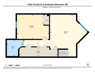 Photo 34: 2 603 YOUVILLE Drive E in Edmonton: Zone 29 Townhouse for sale : MLS®# E4217412