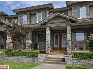 "Photo 1: 87 18701 66TH Avenue in Surrey: Cloverdale BC Townhouse for sale in ""Encore at Hillcrest"" (Cloverdale)  : MLS®# F1216622"