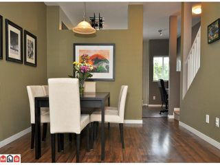 "Photo 3: 87 18701 66TH Avenue in Surrey: Cloverdale BC Townhouse for sale in ""Encore at Hillcrest"" (Cloverdale)  : MLS®# F1216622"