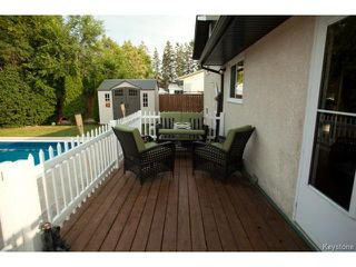 Photo 16: 27 Bramton Street in WINNIPEG: St Vital Residential for sale (South East Winnipeg)  : MLS®# 1418917