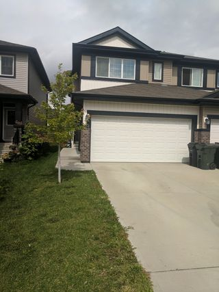 Photo 1: 124 Springwood Way in Spruce Grove: House Half Duplex for rent