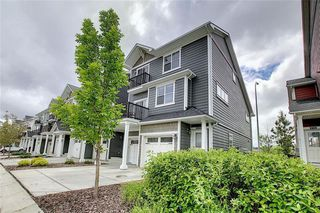Photo 2: 1301 881 SAGE VALLEY Boulevard NW in Calgary: Sage Hill Row/Townhouse for sale : MLS®# C4305688