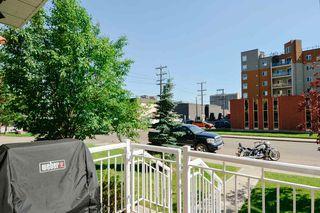Photo 26: 120 10333 112 Street in Edmonton: Zone 12 Condo for sale : MLS®# E4208290
