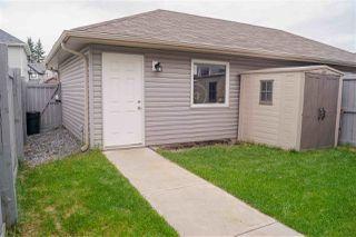 Photo 40: 8214 180 Avenue in Edmonton: Zone 28 House Half Duplex for sale : MLS®# E4213833