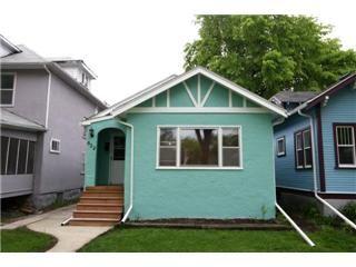 Main Photo: 622 Sherburn Street in Winnipeg: West End / Wolseley Residential for sale (West Winnipeg)  : MLS®# 1110466