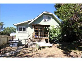 Photo 1: 1267 E 13TH AV in Vancouver: Mount Pleasant VE House for sale (Vancouver East)  : MLS®# V1141181
