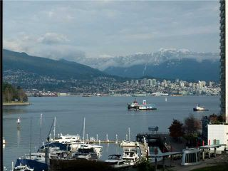 """Photo 1: 606 588 BROUGHTON Street in Vancouver: Coal Harbour Condo for sale in """"HARBOURSIDE PARK"""" (Vancouver West)  : MLS®# V929712"""