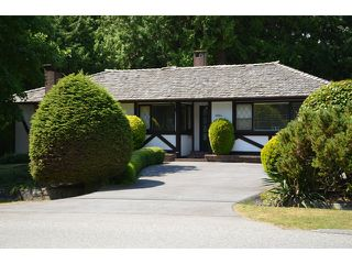 Main Photo: 4034 RIPPLE RD in West Vancouver: Bayridge House  : MLS®# V1018412