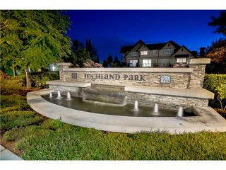 """Photo 1: 92 2501 161A Street in Surrey: Grandview Surrey Townhouse for sale in """"HIGHLAND PARK"""" (South Surrey White Rock)  : MLS®# F1421284"""
