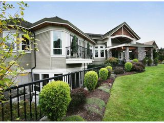 Photo 1: 3763 159A ST in Surrey: Morgan Creek House for sale (South Surrey White Rock)  : MLS®# F1424508