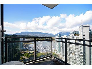 Photo 1: # 2504 1211 MELVILLE ST in Vancouver: Coal Harbour Condo for sale (Vancouver West)  : MLS®# V1118305