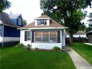 Main Photo: 378 Albany Street in Winnipeg: St James Single Family Detached for sale (5E)  : MLS®# 1623973