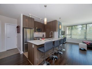 Photo 1: 407 301 CAPILANO ROAD in Port Moody: Port Moody Centre Condo for sale : MLS®# R2266488