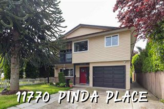 Photo 1: 11770 PINDA Place in Maple Ridge: Southwest Maple Ridge House for sale : MLS®# R2456571