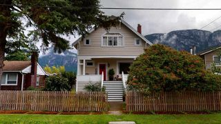 Photo 1: 38054 FIFTH Avenue in Squamish: Downtown SQ House for sale : MLS®# R2465104