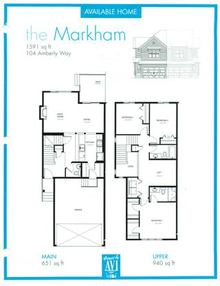 Photo 43: 104 AMBERLEY Way: Sherwood Park House Half Duplex for sale : MLS®# E4213385
