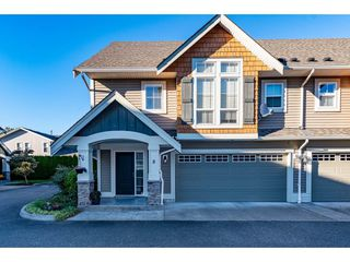 """Photo 1: 8 8945 BROADWAY Street in Chilliwack: Chilliwack E Young-Yale Townhouse for sale in """"Villas on Broadway"""" : MLS®# R2503750"""