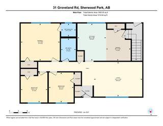 Photo 32: 31 GROVELAND Road: Sherwood Park House for sale : MLS®# E4224942
