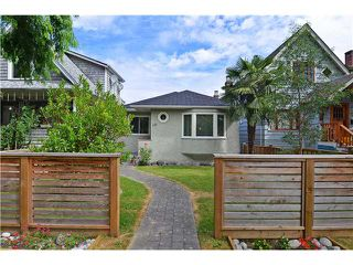 Photo 1: 121 W 17TH AV in Vancouver: Cambie House for sale (Vancouver West)  : MLS®# V1132759
