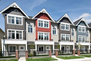 """Photo 1: 4917 47A Avenue in Delta: Ladner Elementary Townhouse for sale in """"AURA"""" (Ladner)  : MLS®# R2466481"""