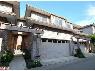 """Photo 1: 12 16655 64TH Avenue in Surrey: Cloverdale BC Townhouse for sale in """"Ridgewood Estates"""" (Cloverdale)  : MLS®# F1205100"""
