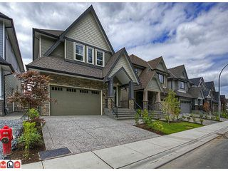 "Photo 1: 8091 212TH Street in Langley: Willoughby Heights House for sale in ""YORKSON CREEK"" : MLS®# F1219270"