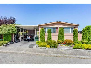 """Photo 1: 15851 NORFOLK Road in Surrey: King George Corridor Manufactured Home for sale in """"CRANLEY PARK"""" (South Surrey White Rock)  : MLS®# R2428769"""