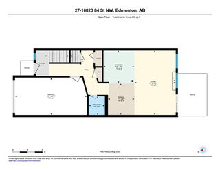 Photo 35: 27 16823 84 Street Edmonton 3 Bed 1.5 Bath Townhouse For Sale E4209344