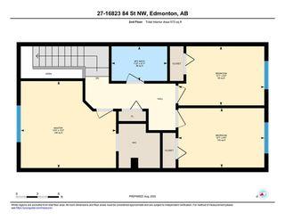 Photo 36: 27 16823 84 Street Edmonton 3 Bed 1.5 Bath Townhouse For Sale E4209344
