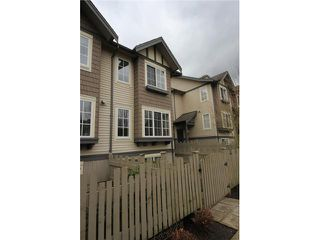 """Photo 1: 134 3288 NOEL Drive in Burnaby: Sullivan Heights Townhouse for sale in """"STONEBROOK"""" (Burnaby North)  : MLS®# V939483"""