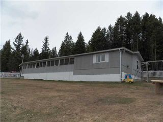 Photo 1: 3748 HILLSIDE Road in Williams Lake: Williams Lake - Rural North Manufactured Home for sale (Williams Lake (Zone 27))  : MLS®# N227845