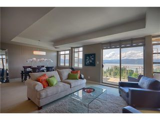 "Photo 1: 8543 SEASCAPE CT in West Vancouver: Howe Sound Townhouse for sale in ""SEASCAPES"" : MLS®# V1011832"
