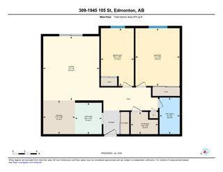 Photo 24: 309 1945 105 Street in Edmonton: Zone 16 Condo for sale : MLS®# E4208139