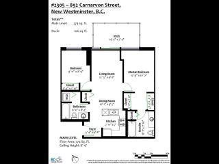 """Photo 26: 2305 892 CARNARVON Street in New Westminster: Downtown NW Condo for sale in """"Azure II"""" : MLS®# R2516429"""