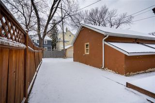 Photo 36: 766 Westminster Avenue in Winnipeg: Wolseley Residential for sale (5B)  : MLS®# 202027949