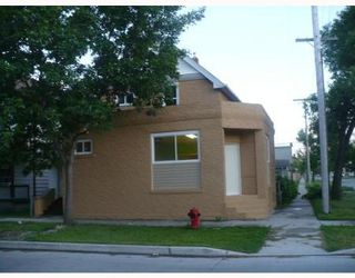 Photo 1: 828 MANITOBA AVE: Residential for sale (North End)  : MLS®# 2913625