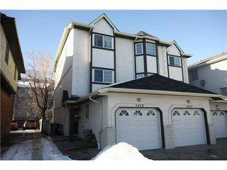 Main Photo: 1425 1 Street NE in CALGARY: Crescent Heights Townhouse for sale (Calgary)  : MLS®# C3550740