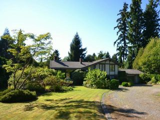 Photo 1: 3045 144TH ST in Surrey: Elgin Chantrell House for sale (South Surrey White Rock)  : MLS®# F1422073