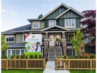 Photo 1: # 32 2138 SALISBURY AV in Port Coquitlam: Glenwood PQ Townhouse for sale : MLS®# V1126902