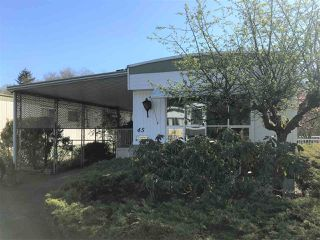 """Photo 15: 45 2270 196TH Street in Langley: Brookswood Langley Manufactured Home for sale in """"Pine Ridge Park"""" : MLS®# R2447689"""