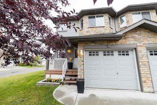Photo 1: 43 6304 SANDIN Way in Edmonton: Zone 14 Townhouse for sale : MLS®# E4217894