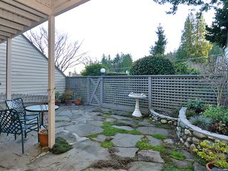 Photo 10: 20 4957 MARINE Drive in West Vancouver: Olde Caulfeild Townhouse for sale : MLS®# V931742