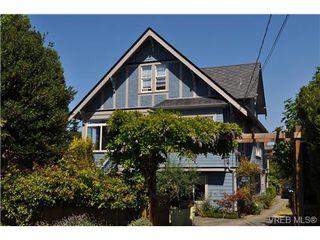 Photo 1: 1933 Ashgrove St in VICTORIA: Vi Jubilee Half Duplex for sale (Victoria)  : MLS®# 650388
