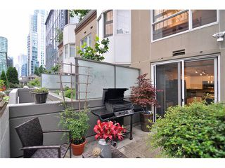 Photo 1: # 210 1166 MELVILLE ST in Vancouver: Coal Harbour Condo for sale (Vancouver West)  : MLS®# V1077124