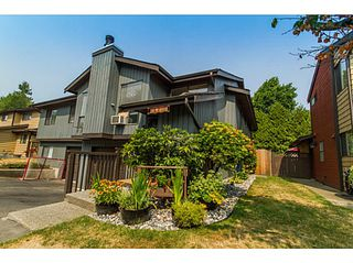 Photo 1: # 5 21550 CHERRINGTON AV in Maple Ridge: West Central Condo for sale : MLS®# V1133707